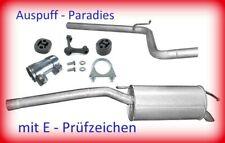 Abgasanlage Auspuff Endtopf VW Caddy III 1.9TDi Typ 2K Kombi & Kasten +Anbaukit