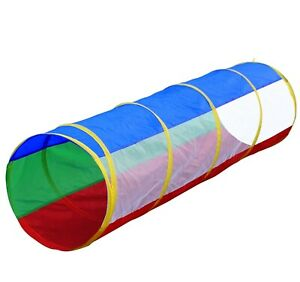 Kids 6ft Pop-up Play Tunnel Toy for Boys w/ Mesh Windows + Case! FAST EXP SHIP!!