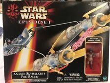 Star Wars Episode 1 Anakin Skywalker's Pod Racer Exclusive Figure Hasbro 1998