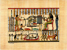 **Rare** Genuine Hand Painted Authentic Egyptian Papyrus (Ancient Burial)