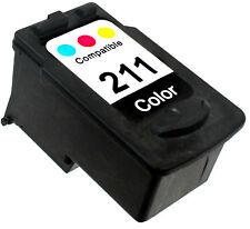 1PK FOR CANON CL-211 CL211 CL 211 2976B001 COLOR PIXMA MP250 MP270 MP280 MP480