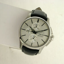 Gucci Swiss YA126265 Chronograph Automatic Mens Leather Stainless Watch
