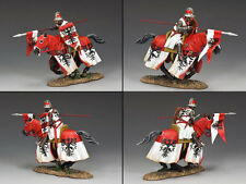 KING AND COUNTRY Mounted Crusader - A Knight of Saxony MK107