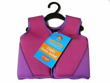 KIDS TODDLER 2-3 YEARS SWIM SAFE VEST LIFE JACKET WITH FLOATS SWIMMING