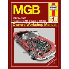 MGB 1.8 Petrol 1962-80 Special Colour Edition Haynes Manual Classic Reprint