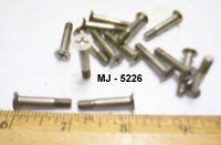 Lot of 15 - Non-Magnetic Philips Head Machine Screws (NOS)