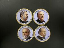 2012 Complete Set of Colorized Presidential Dollars