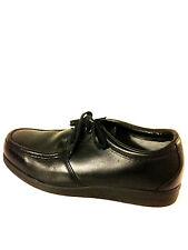 Vintage Red Wing Steel Toe Shoe size 9 us.black.