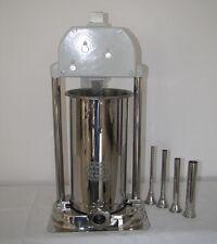 Wurstfüller 9 Liter Wurstfüllmaschine Füller Wurstspritze mit Tülle 32mm dick