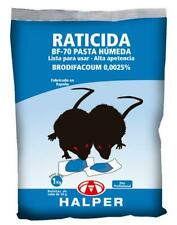 Pâte Humide Rodenticide BF-70 Rat et Souris Appat Frais 10g - 1 kg (100 Pcs)