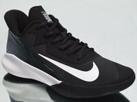 Nike Precision IV 4 Men's Black White Low Basketball Sneakers Athletic Shoes 12