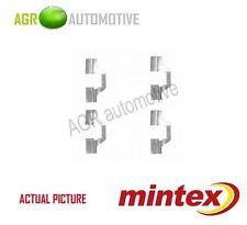 MINTEX REAR BRAKE PADS ACCESORY KIT SHIMS GENUINE OE QUALITY - MBA1749