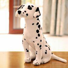 Large Dalmatian Sitting 57cm Lifelike Stuffed Animal Dog Plush Toy UK SELLER