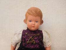X-06970Alte Schildkröt Celluloid Puppe, L. ca. 17,5 cm, HM: SiR 18 ½ / 19