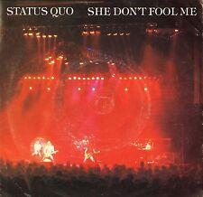 """Status Quo-elle ne pas me tromper/never too late QUO 8 uk vertigo 7"""" PS EX/VG"""