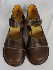 Dr Doc Martens Brown Womens Mary Jane Buckle Sandals Shoes Sz 7 England 9 US