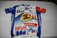VINTAGE Maillot cycliste TUTTI CAMPAGNOLO maglia jersey BANESTO Z PDM TELEKOM SE