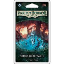 Fantasy Flight Games Arkham Horror The Card Where Doom Awaits Mythos Game Pac