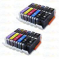 12PK PGI-280XXL CLI-281XXL Ink for Canon Pixma TS8120 TS9120 TS8220 TS9520 9521C
