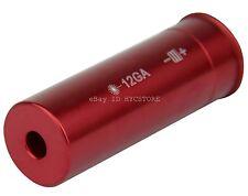 Red Laser Bore Sight 12 Gauge Barrel Cartridge Boresighter for Shotguns 12ga