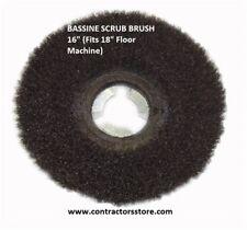 "Floor Machine BASSINE SCRUB BRUSH 18""     Concrete & Hard Floors"
