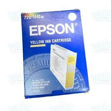 Genuine Epson S020122 Yellow Ink Cartridge Stylus Color 3000 Pro 5000