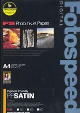 Fotospeed Pigment Friendly Satin 270gsm - A4 - Inkjet - 50 Sheets