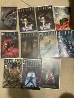 Aliens Comic Book Lot Of 11! All Are In Great Condition! Free Shipping!