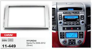 CARAV 11-449 2Din Marco Adaptador Kit Radio HYUNDAI Santa Fe 2006-2012