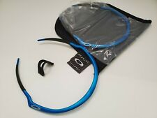 NEW 100% VINTAGE OAKLEY M FRAME PRO FMJ ELECTRIC BLUE w SILVER ICON - FRAME ONLY