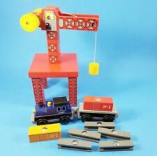 Thomas & Friends Wooden Railway Compatible CRANE LOT Magnetic Train Car 7 Cargo