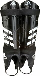 adidas Reflex Shin Pads Guards Football Ankle Protector CW5581 RRP £20 (AC2)