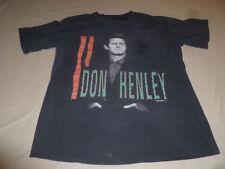 Vintage Don Henley Eagles 1991 Rare Rock Concert Shirt Mens Size Large Black Tee