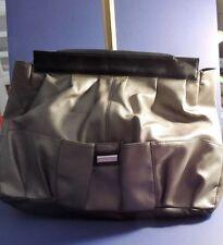"""EUC - MICHE - Prima Bag Shell - """"Oakley"""" Black & Grey faux leather - retired NIB"""