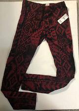 Full Tilt Leggings Red Size Small Brand New W/ Tilly's Tag