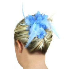 Hair Flowers Fashion Accessories Ladies Head Pieces Clips Girls Fascinators UK