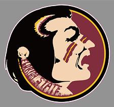 "Florida State University Seminoles FSU 6"" Wide Premium Vinyl Decal Sticker NCAA"