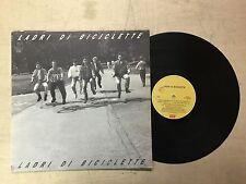 LADRI DI BICILETTE LP 33 GIRI 1989