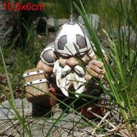 Harz Handwerk Dschungel Krieger Hammer Soldaten Garten Statuen Ornamente R7X0