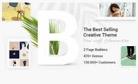 Bridge - Creative Multipurpose WordPress Theme, 470+ Pre made websites