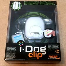 I-DOG CLIP indossabile bianco speaker per iPhone iPod Smartphone MP3 TA554