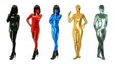 New Costume Metallic lycra Catsuit Zentai Full Body Catsuit S-XXL