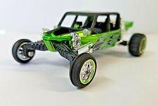 Jada 1:55 High Profile Green SAND RAIL Dune Buggy #35 Diecast desk shelf gift