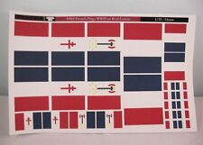 Reality In Scale 35061 French Flags WW2 printed on cotton 1:35 scale diorama
