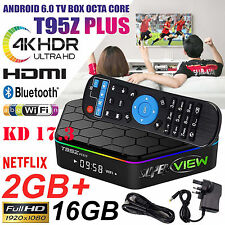 T95Z plus S912 ✅ 2 Go ✅ 16 Go Octa Core Android 7.1 TV Box 17 2.4/5 Ghz WIFI