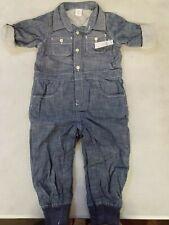 GAP Baby Denim one piece overall, denim, size 18~24 months