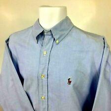 Ralph Lauren Men's Yarmouth Classic Fit Button Down Shirt 151/2  Dress Shirt