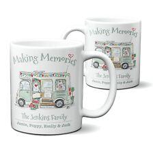 More details for motorhome mug personalised house warming gift vintage wedding gift 11oz ceramic