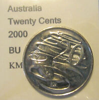 2000 Australia 20c Twenty Cent UNCIRCULATED FROM MINT SET