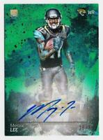 2014 Topps Fire Rookie Autographs Green #126 Marqise Lee Auto /75 - NM-MT